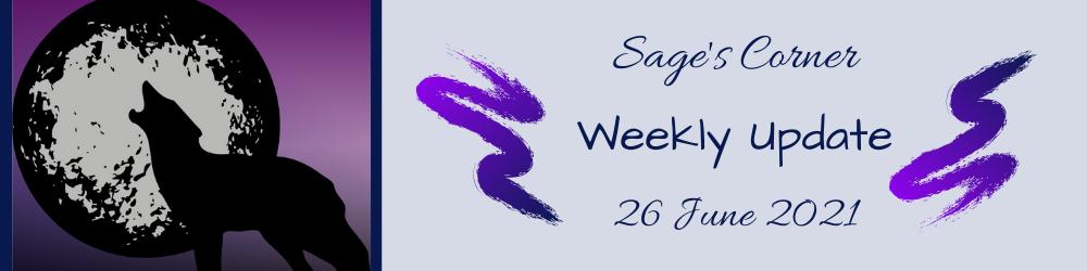 Weekly WIP Update – 26 June 2021